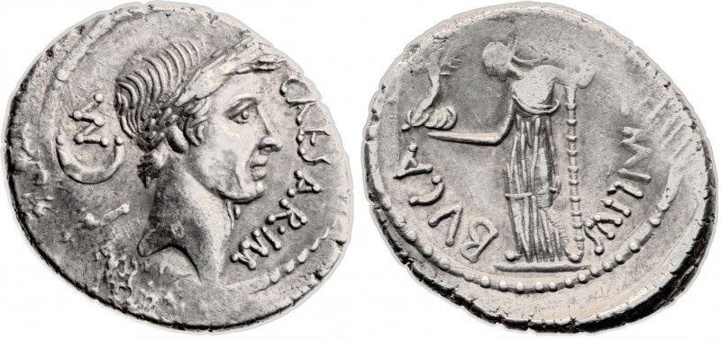 Денарий (44 год до н.э.)
