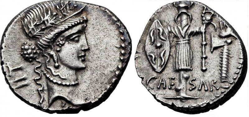 Денарий (48 год до н.э.)
