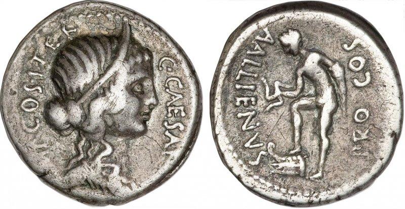 Денарий (47 год до н.э.)