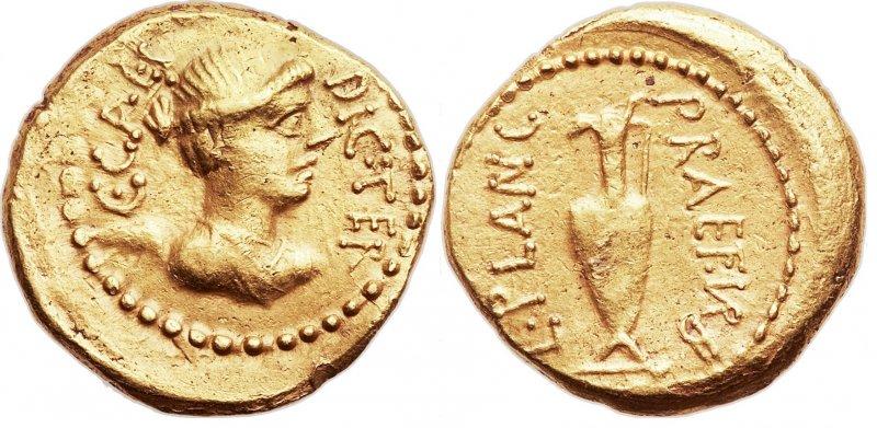 Ауреус (45 год до н.э.)