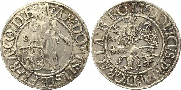 Иоахимсталер барона Шлика. 1519 год
