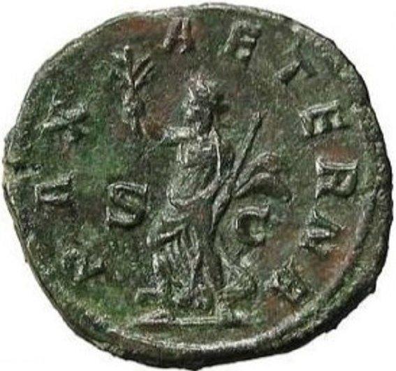 PAX AETERNA - Вечный Мир на сестерции императора Филиппа Араба. 244-249 гг.
