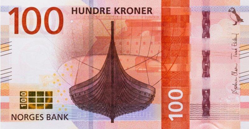 100 норвежских крон