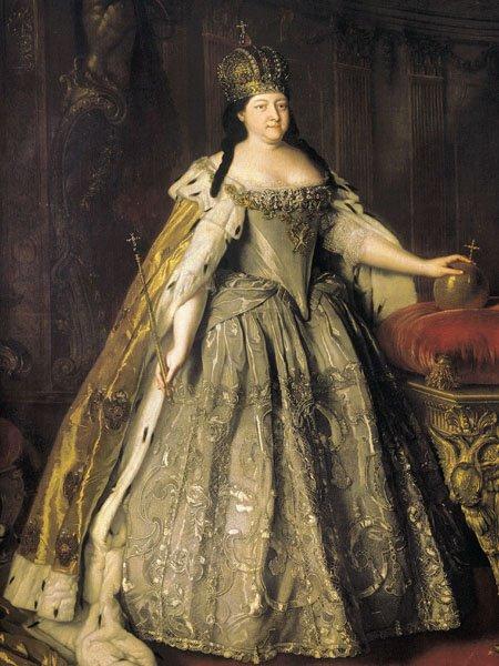 Российская императрица Анна Иоанновна