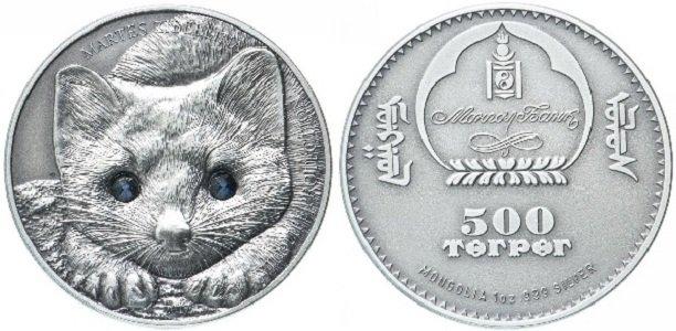 500 тугриков «Соболь»