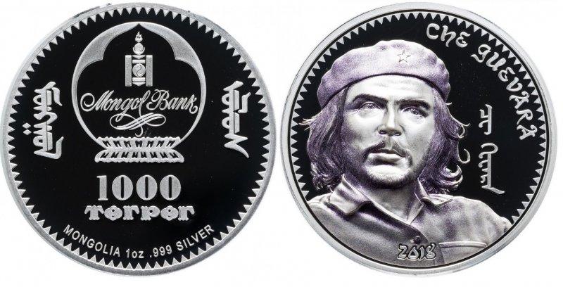 """1000 тугриков 2018 года """"Че Гевара"""""""