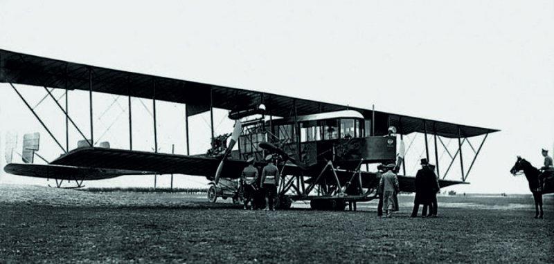 Четырёхмоторный самолёт Российской Империи «Русский витязь»