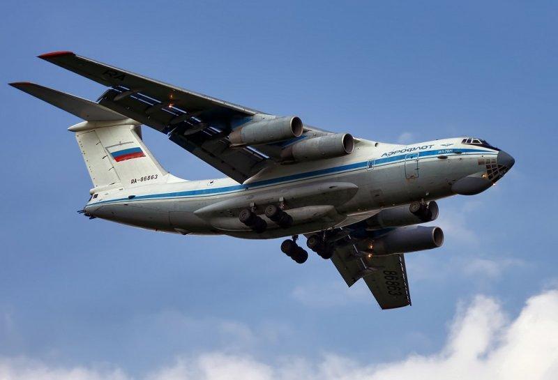 Советский и российский тяжёлый транспортный самолёт «Ил-76»