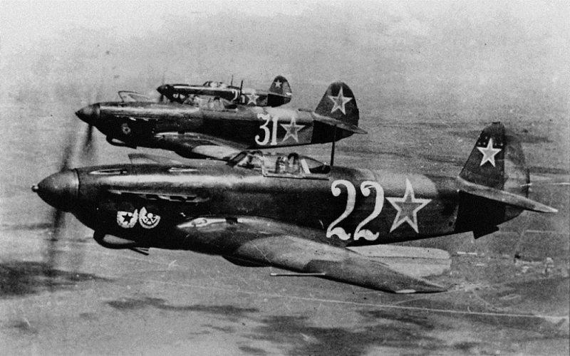 Советский одномоторный истребитель «Як-3»