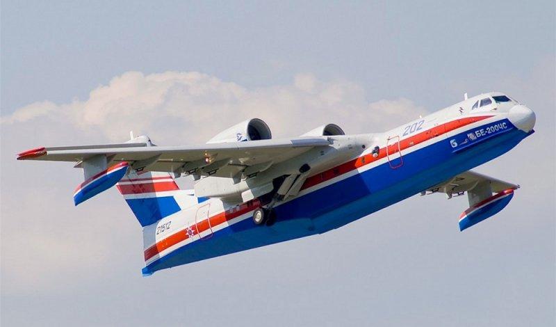 Российский самолёт-амфибия «Бе-200» (Альтаир)