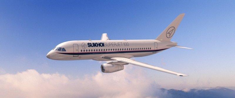 Российский пассажирский самолёт «Сухой Суперджет 100»