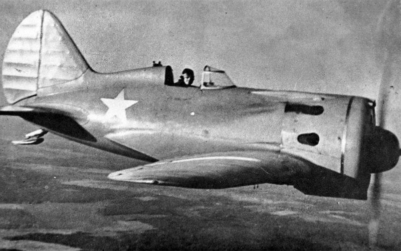 Советский одномоторный истребитель «И-16»
