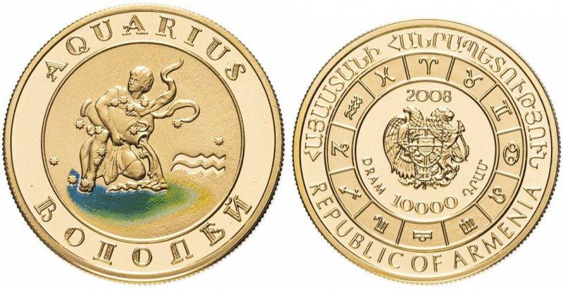 Монета Армении (золото)