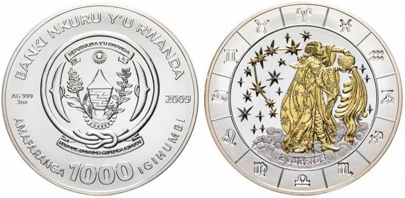 Монета Руанды