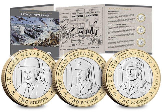 Набор памятных монет острова Мэн