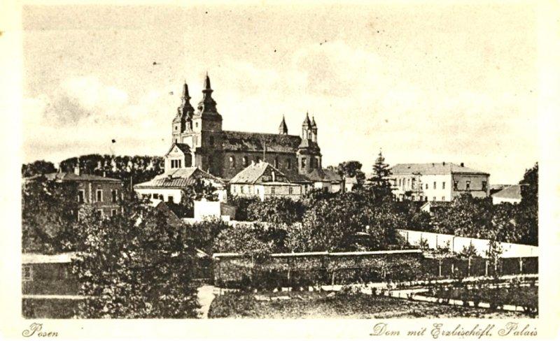 Город Позен 1916 год