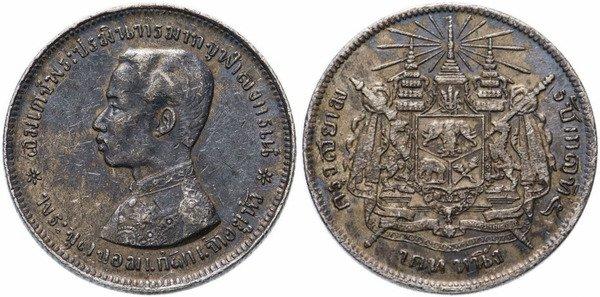 1 бат (1876-1908)