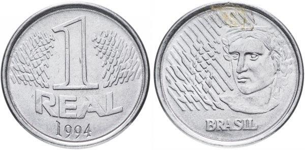 1 реал, Бразилия, 1994 год