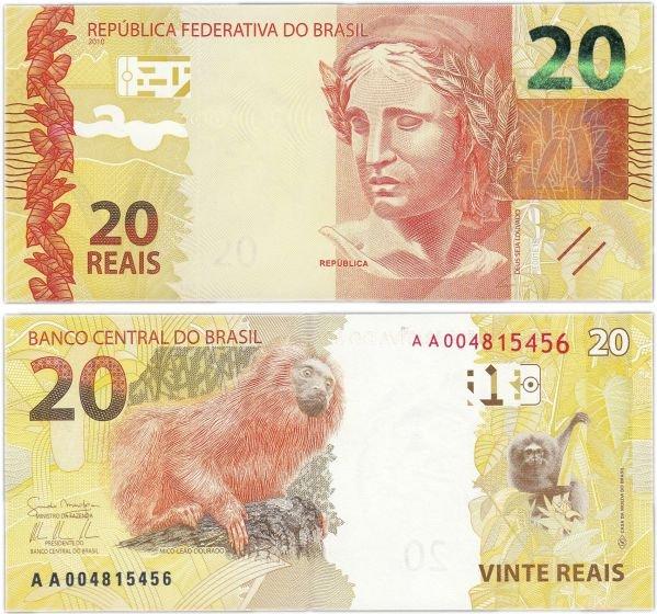 20 реалов, Бразилия, 2010 год