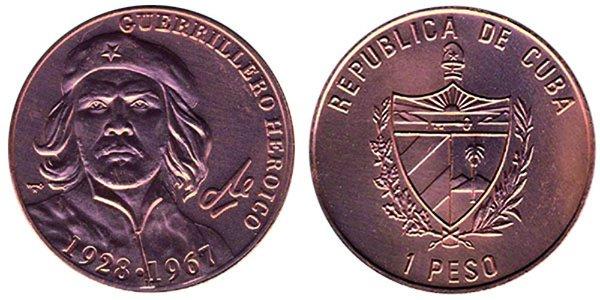 1 песо 2007 года, 40-лет со дня смерти Че Гевары