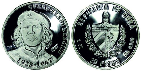 20 песо 2007 года, 40-лет со дня смерти Че Гевары