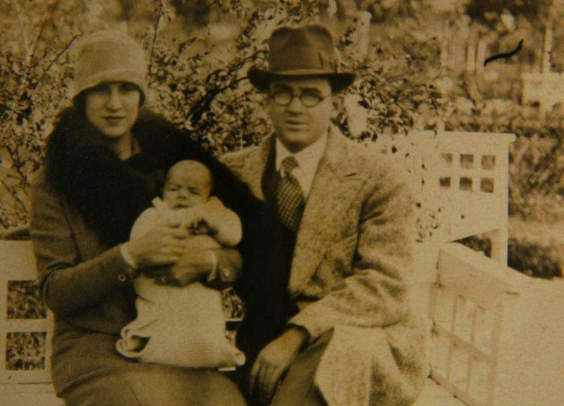 Эрнесто Гевара с родителями