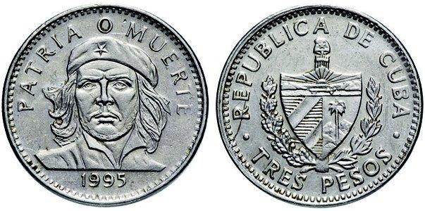 3 песо 1995 года