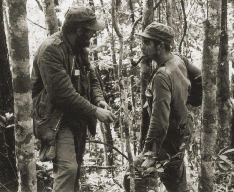 Фидель Кастро и Че Гевара, 1957 год