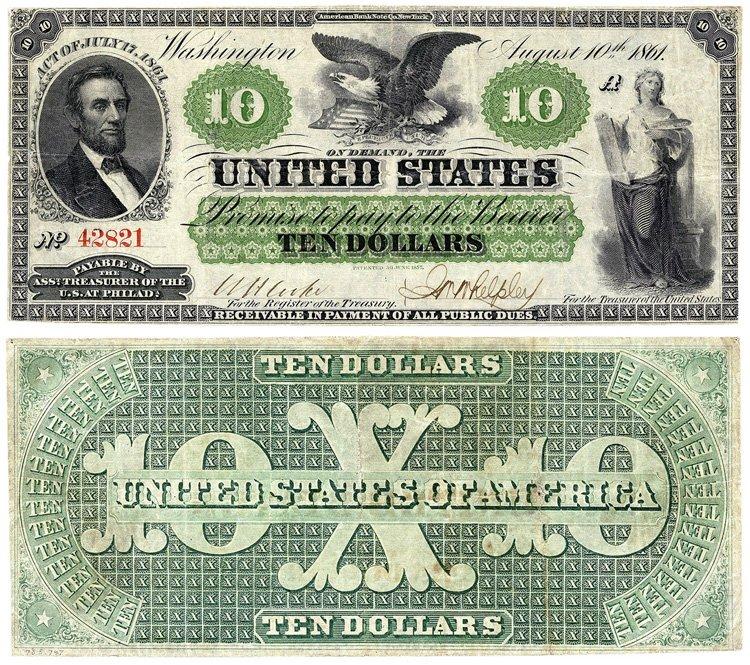 Доллары США 1861 года (северяне)