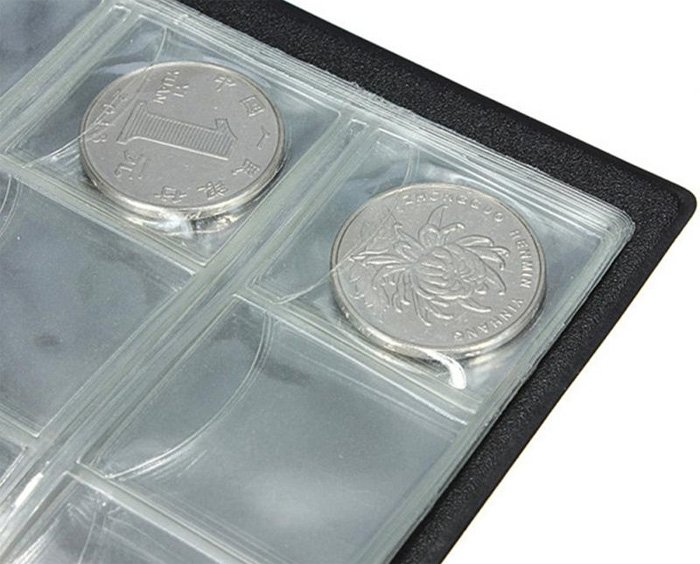 Плотная фиксация монет