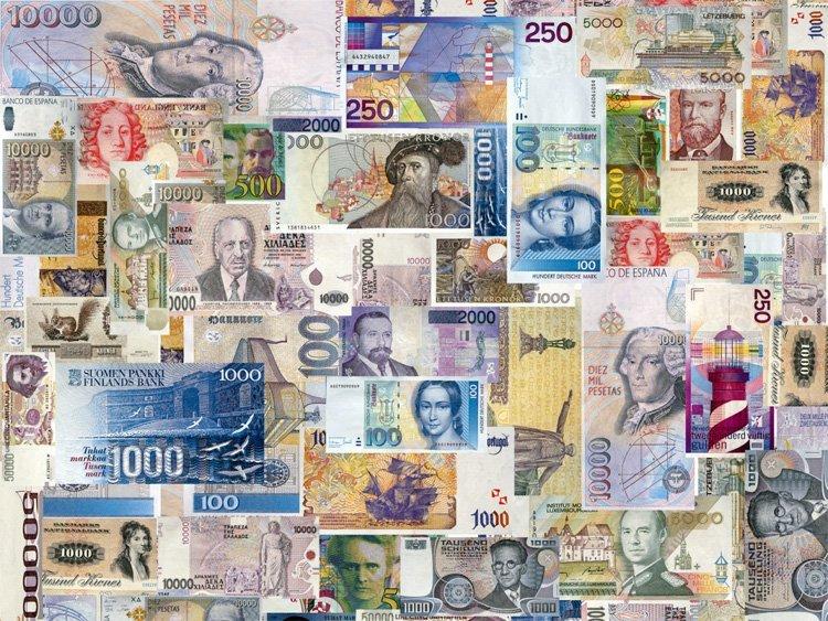 Банкноты различных стран мира