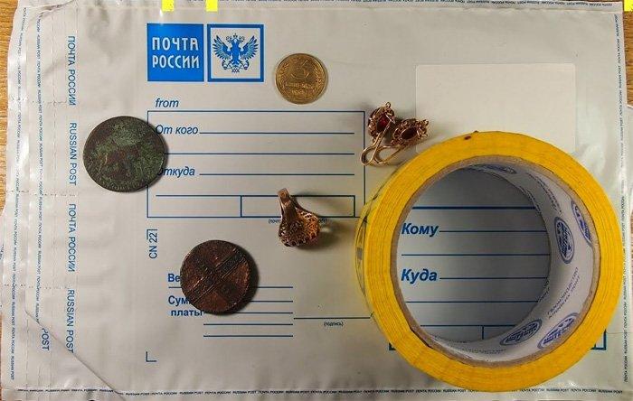 Пример различных вложений в почтовое отправление, которые рекомендуется отправлять со страховкой
