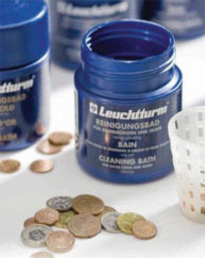 Фирменные жидкости для работы с монетами