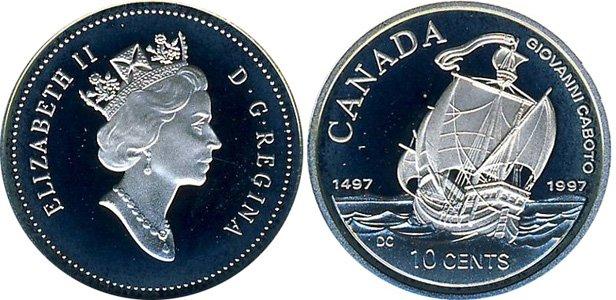 Серебряные 10 центов