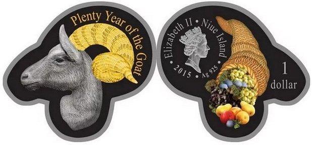 Монета оригинальной формы