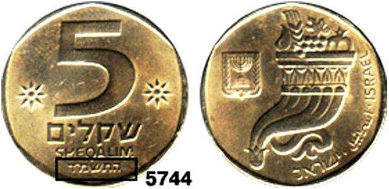 """Израильская монета с датой из """"будущего"""""""