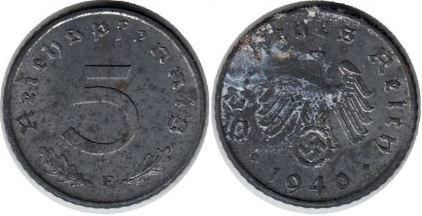 Монета Третьего Рейха