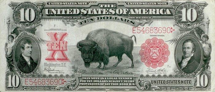 "Доллар США на тему ""Фауна"""