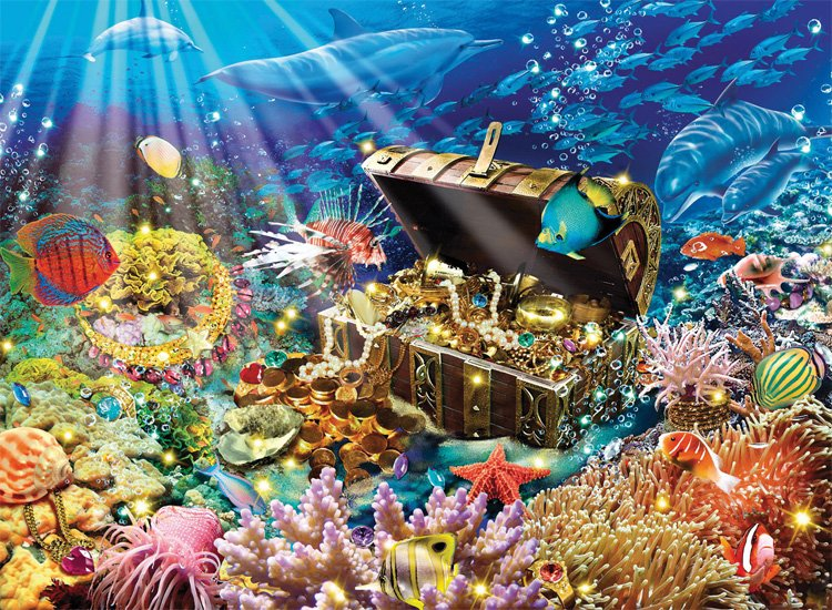 Сокровища подводного царства