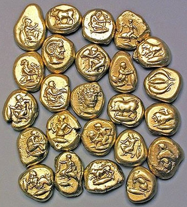 Монеты из электрума