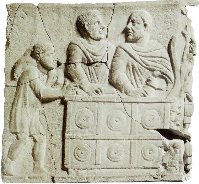 Менялы Древнего Рима