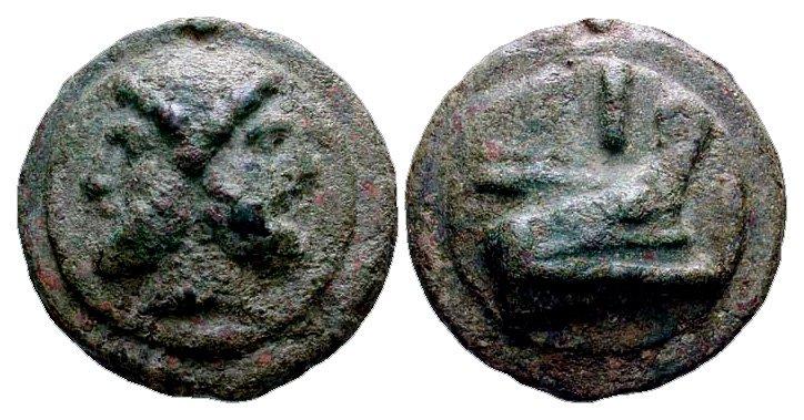 Монета Древнего Рима - асс
