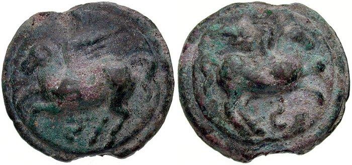 Монета Древнего Рима - семис