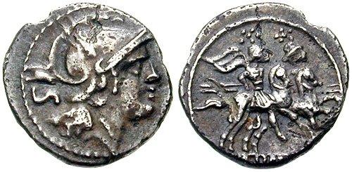 Монета Древнего Рима - сестерций