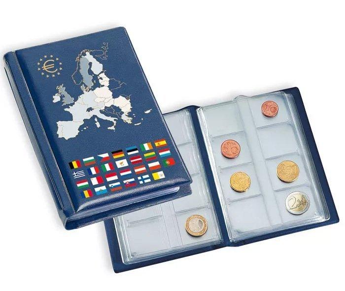 Компактный альбом для хранения монет