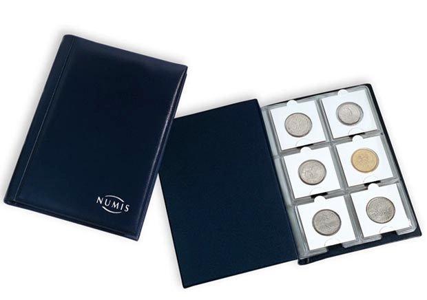 Альбом для хранения монет в холдерах