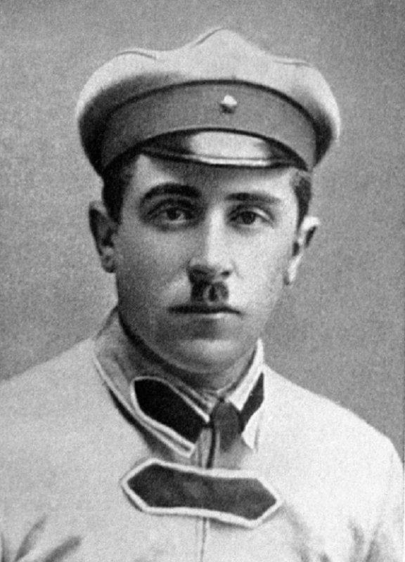 Мате Залка (1896-1937 гг.). Фото 1922 года