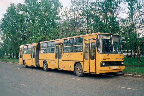Один из символов венгерского автопрома, знаменитый «Икарус – гармошка»