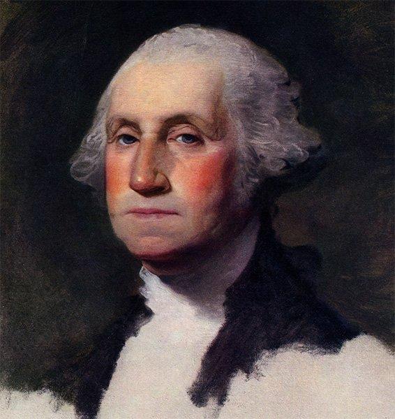 Атенеумский портрет Вашингтона работы Гилберта Стюарта, 1796 год