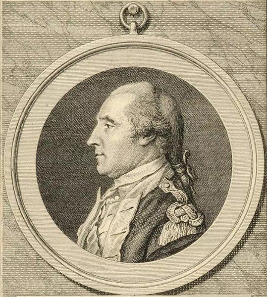 Портрет Джорджа Вашингтона авторства Пирра Симитера, 1779 год